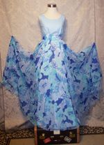 Jack Bryan NOS 1970s Blue Under The Sea Starfish Gown & Jacket (12)
