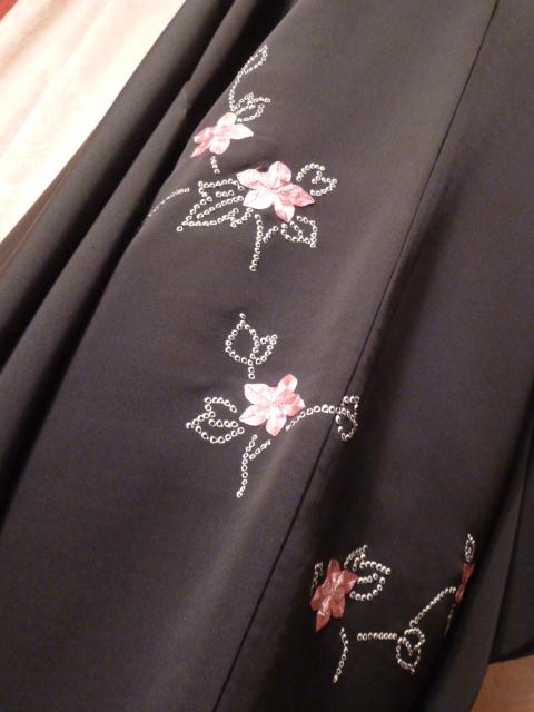 Vintage black Haori Kimono Jacket