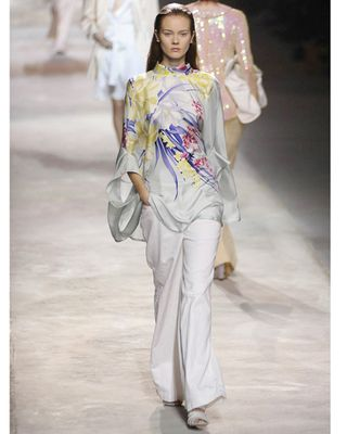 Dries Van Noten Spring 2011 kimono top