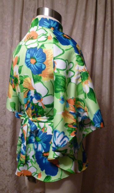 Vintage Pomare Hawaii Bold Floral Kimono Top (6)
