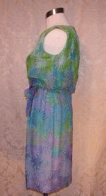 Philippe Tournaye Rembrandt vintage silk dress (5)