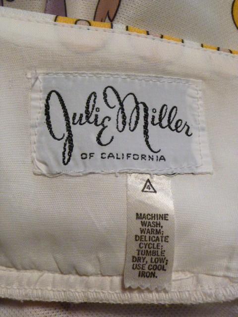 Julie Miller California 1970s vintage halter dress & scarf (9)