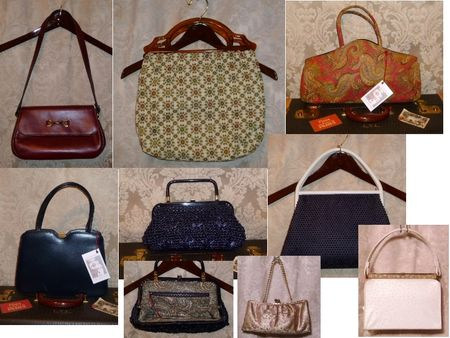 Vintage Purses coming to The Top Shelf Flea III from The Red Velvet Shoe