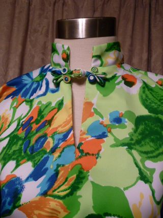 Vintage Pomare Hawaii Bold Floral Kimono Top (3)