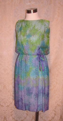 Philippe Tournaye Rembrandt vintage silk dress (4)