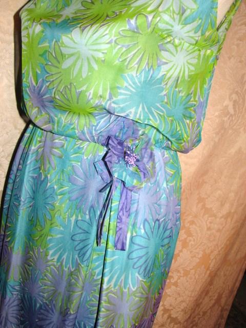 Philippe Tournaye Rembrandt vintage silk dress (8)