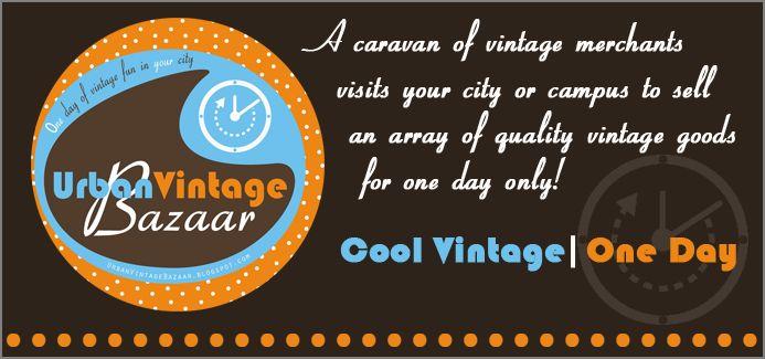 Urban Vintage Bazaar November 5 2011 Brown University