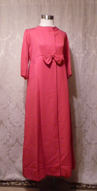 1960s Jr. Theme pink evening coat (2)