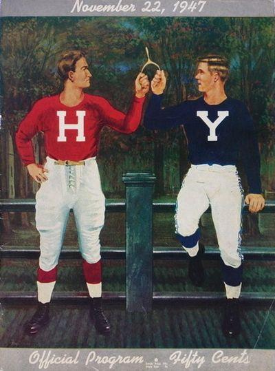 Harvard-yale-vintage 1947