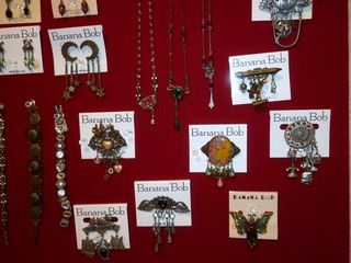 Vintage Banana  Bob jewelry @ The Red Velvet Shoe (5)