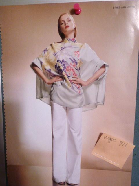 Dries Van Noten Spring 2011 kimono top (2)