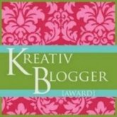 Honored to receive the Kreativ Blogger Award ~ September 2009 ~