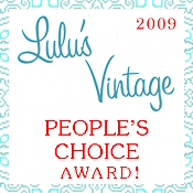 Tied for 3rd place in The People's Choice Top Ten Vintage Clothing Websites in 2009
