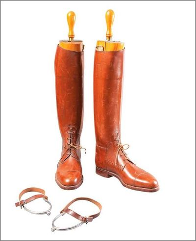 Douglas Fairbanks riding boots Made in England