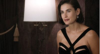 Black dress worn by Demi Moore in Indecent Proposal