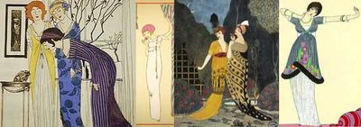 Paul Poiret oriental influence designs