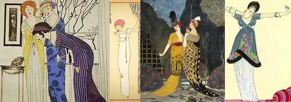 Paul Poiret oriental influence designs
