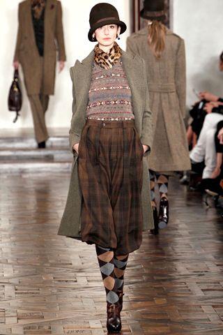 Ralph Lauren 2012 30's cloche hat
