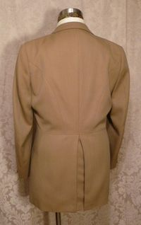 Vintage cavalry twill equestrian hunting coat British Accent Tailored by Tiger of Sweden GULINS  (4)