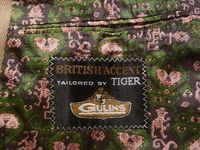 Vintage cavalry twill equestrian hunting coat British Accent Tailored by Tiger of Sweden GULINS  (12)
