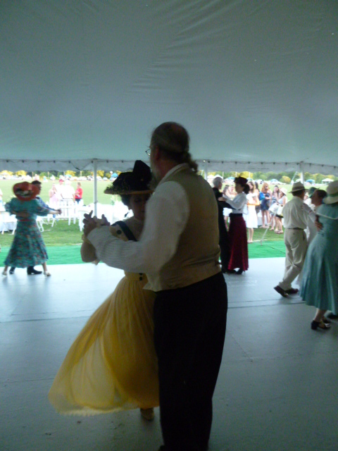 Commonwealth Vintage Dancers dance at The Newport International Polo Grounds (14)