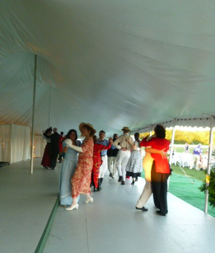 Commonwealth Vintage Dancers dance at The Newport International Polo Grounds (19)