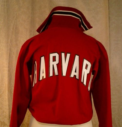 Vintage Harvard crimson jacket c1970 (4)