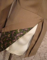 Vintage cavalry twill equestrian hunting coat British Accent Tailored by Tiger of Sweden GULINS  (6)