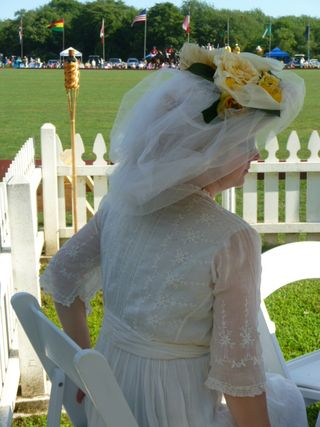 Best hat at Newport Vintage Dance Week 2011 Newport International Polo Grounds