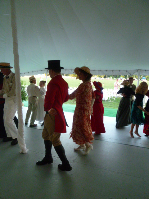 Commonwealth Vintage Dancers dance at The Newport International Polo Grounds (12)