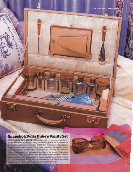 Doris Duke's vintage vanity case by Morabito, Paris c1935