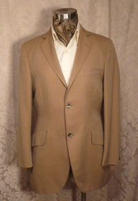 Vintage cavalry twill equestrian hunting coat British Accent Tailored by Tiger of Sweden GULINS