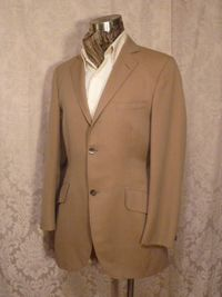 Vintage cavalry twill equestrian hunting coat British Accent Tailored by Tiger of Sweden GULINS  (3)