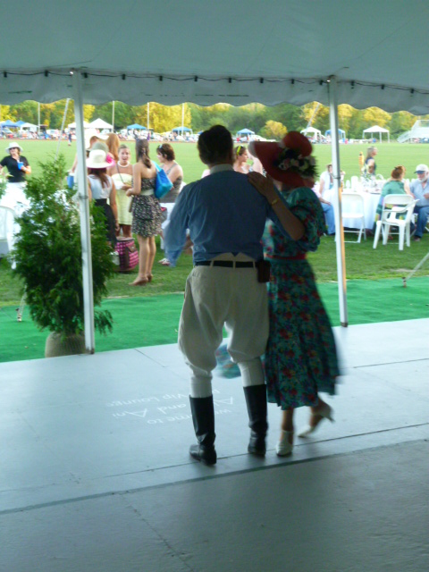 Commonwealth Vintage Dancers dance at The Newport International Polo Grounds (15)