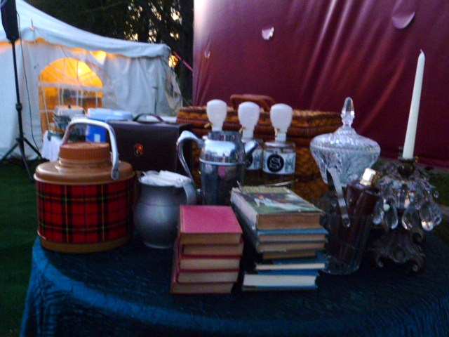 Vintage tailgaiting by The Red Velvet Shoe @ Newport Vintage Dance Week Polo Grounds