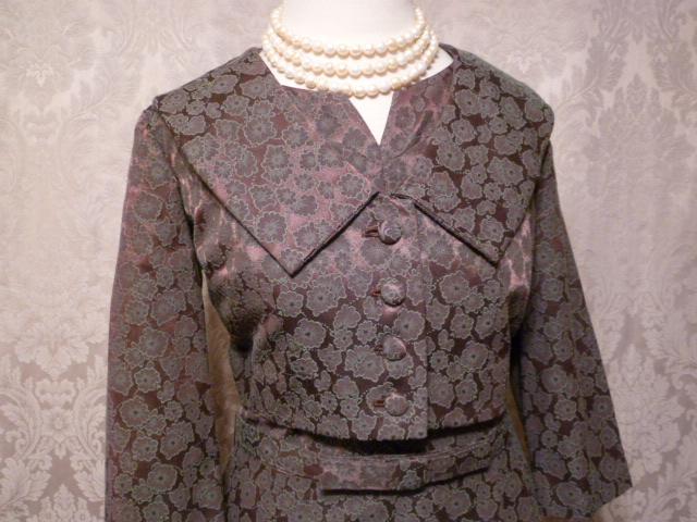 Cohen Bros. Style vintage 1960s 2 piece dress suit bolero jacket (6)