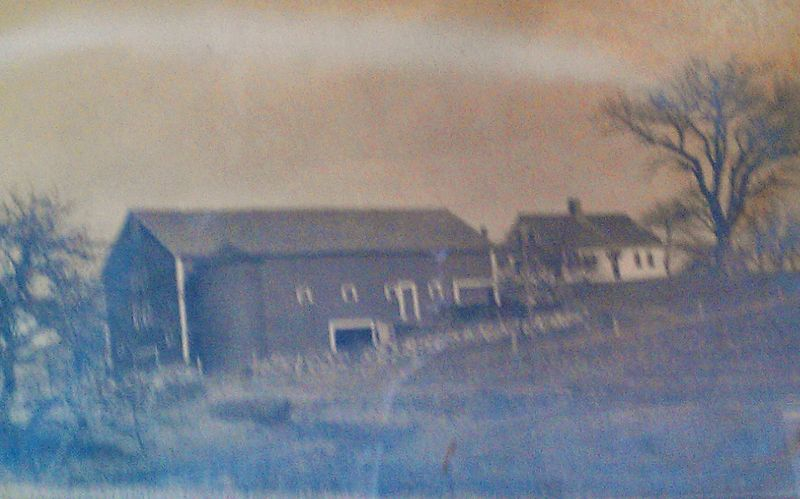 Oldest photo of the farm and barn c