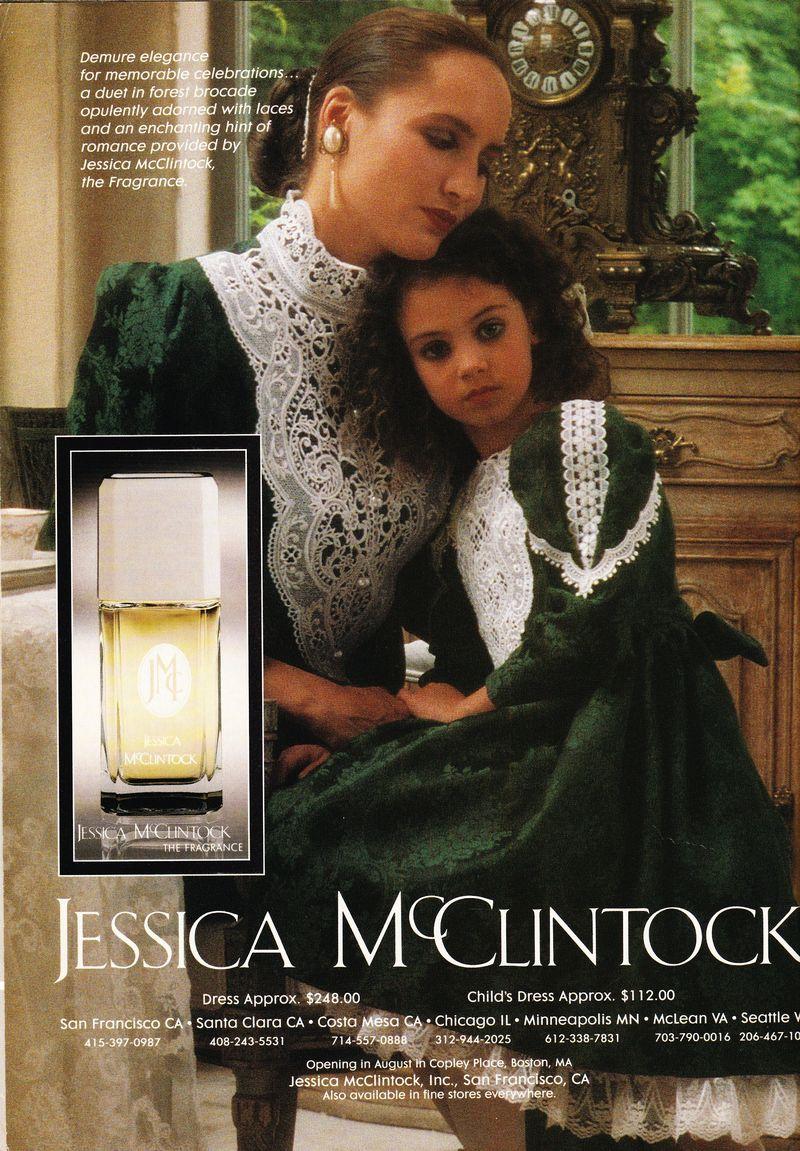 Jessica McClintock ad Victoria sept 1990_0011