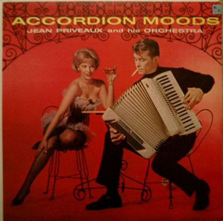 Jean Priveaux & Orchestra Accordion Moods Album CoverJPG