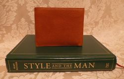 Polo Ralph Lauren  tan leather bifold mens wallet & card holder (4)