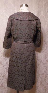 Cohen Bros. Style vintage 1960s 2 piece dress suit bolero jacket (8)