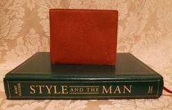 Polo Ralph Lauren  tan leather bifold mens wallet & card holder (3)