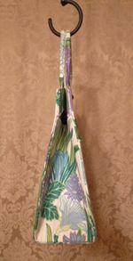 Margaret Smith purple tulips vtg bag 004