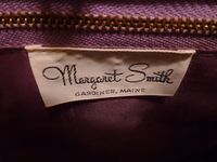 Margaret Smith purple tulips vtg bag 008
