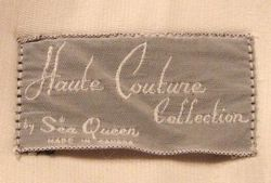 Vintage 1960s Haute Couture Collection Sea Queen bathing swim suit lavender lime floral  (8)