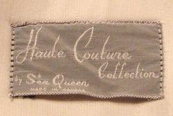Vintage 1960s Haute Couture Collection Sea Queen bathing swim suit lavender lime floral  (8)
