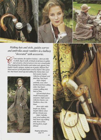 12 Victoria Magazine November 1996 featuring Ralph Lauren fabrics (575x800)
