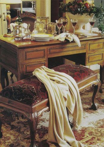 7 Victoria Magazine November 1996 featuring Ralph Lauren fabrics (563x800)