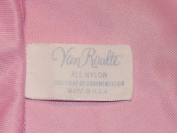 1960s vintage Van Raalte pink lace half slip made in usa (6)