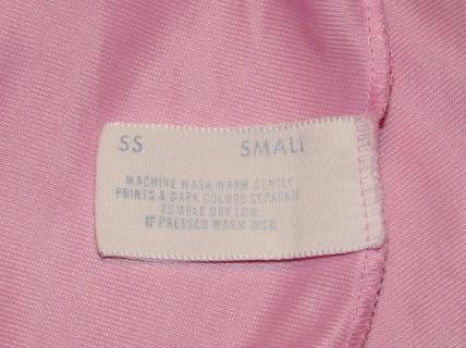 1960s vintage Van Raalte pink lace half slip made in usa (5)